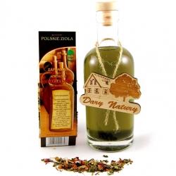 Poola ürdid - Dzięgielówka (Angelica maitsega liköör) - ürdivalik, liköörimaitseline - 2 liitri alkoholi jaoks -