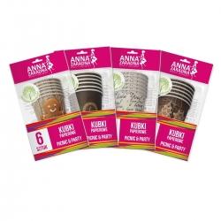 Paper cups - 6 pcs