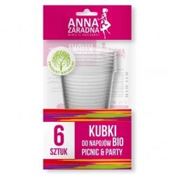 BIO soft drink cups - 6 pcs