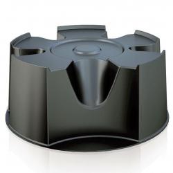 Base del depósito de agua de lluvia - gris antracita -