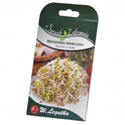 Sprouting seeds - French mix + FREE small sprouter!