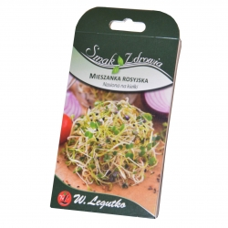 Sprouting seeds - Russian mix + FREE small sprouter!
