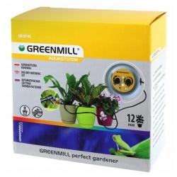 Avtomatska napajalna posoda na baterije - različni načini dela, idealni za domače rastline -