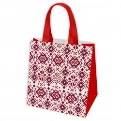 Iepirkumu maisiņš pārtikas precēm - Nordic Pattern 1 - 38 x 38 x 17,5 cm -