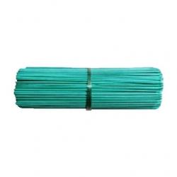 Zaļās apstrādātās bambusa nūjas - 60 cm - 10 gab -