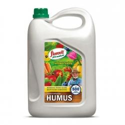Fertilizante orgánico-mineral multiusos con humus - Pro Natura - Florovit - 5 litros -