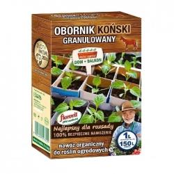 Estiércol de caballo granulado 100% ecológico - Florovit - 1 litro -