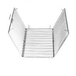Foldable metal trivet - DELICIA - 45 x 32 cm