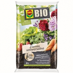 BIO standard soil for all home and garden plants - Compo - 5 litres
