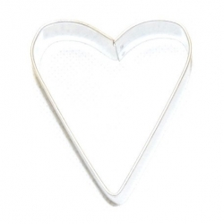 Cookie cutter, mould - heart