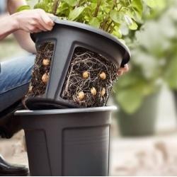 Mugula eemaldamise hõlbustava funktsionaalsusega kartulikasvatuspot - ø 30 cm -