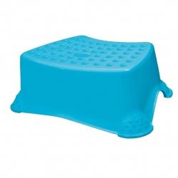 """Non-slip child step stool """"Tomek Little Duck"""" - blue"""