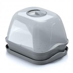 Väike siseruumides asuv mini kasvuhoone - Respana Table Greenhouse - kivihall -