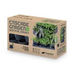 Kaskaadtaimede kasvatamiseks mõeldud modulaarsed istutusmasinad - vertikaalne aed - Cascade Garden - antratsiithall -