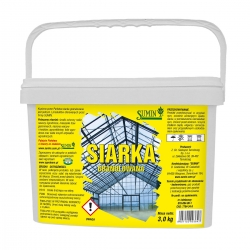 Granulated sulphur - for soil acidifying and greenhouse gassing - 3 kg