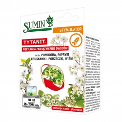 Tytanit - helps tomato, pepper, strawberry, currant and cherry plants produce more fruit - Sumin® - 50 ml