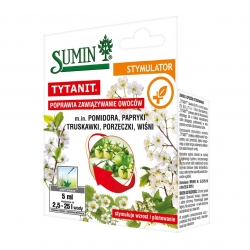 Tytanit - helps tomato, pepper, strawberry, currant and cherry plants produce more fruit - Sumin® - 5 ml