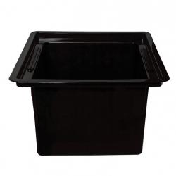 Black square insert for 30 cm pots
