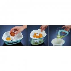 Egg separator - 0.35 litre - celadon green