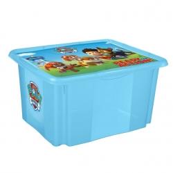 "Filip storage box ""Paw Patrol"" - 24 litres - blue"