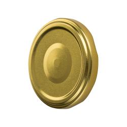 Lecsavarható üvegfedelek - arany - Ø 82 mm -