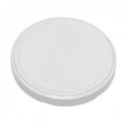 Lecsavarható üvegfedelek - fehér - Ø 43 mm -
