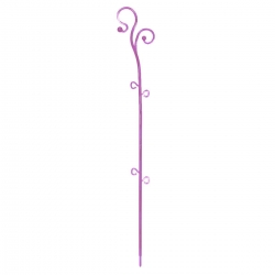 Orchid and other flowering plant support - Decor Stick - pink - 59 cm