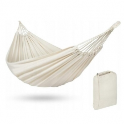 Single hammock in a functional carry and store bag - 200 x 100 cm