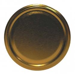 Lecsavarható üvegfedelek - arany - ø¸ 89 mm -