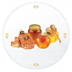 Csavarható edényfedelek (6 füles) - mézes edények - Ø 82 mm -