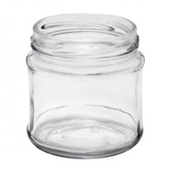 Glass twist-off jars, mason jars - ø 66 - 200 ml - 12 pcs