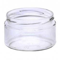 Glass twist-off jars, mason jars - ø 82 - 250 ml - 8 pieces