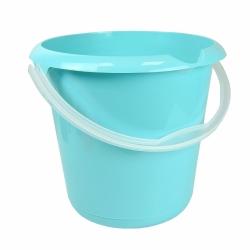Ведро с носиком - Мика - 10 л - водянисто-голубое -