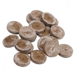 Expandable peat pellets 18 mm - 200 pieces