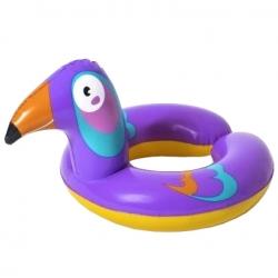 Cijev za plažu, plutajući prsten za bazen na napuhavanje - Ptica - 57 x 51 cm -