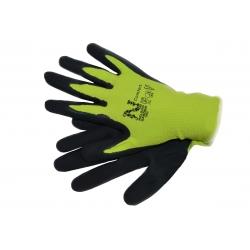 Sarung tangan taman Comfort-Lime-green -