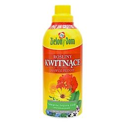 Ziedu augu mēslojums - Zielony Dom® - 750 ml -