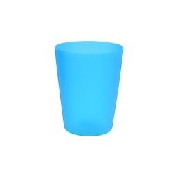 Plastic cup 0.25 l - fresh blue