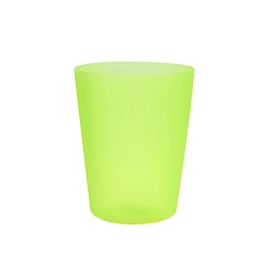 Plastic cup 0.25 l - fresh green