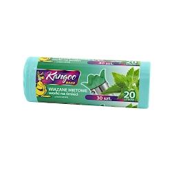 Aromātiski ātri sasienami vītolu zaļo tvertņu maisiņi - 20 litri - 30 gab -