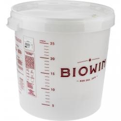 Tarro de fermentación con tapa y escala de medición - 30 litros -