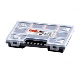 Organizador de ferramentas com divisórias móveis - 15,5 x 19,5 cm - NOR -
