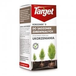 """""""Korzonek D"""" na zakorenenie drevitých odrezkov okrasných rastlín, ako sú cyprusy, arbovity, tisy, gerbery -"""