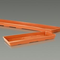 """Agro"" balcony set - terracotta-coloured - 50 cm"