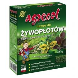 Hnojivo pre živé ploty, okrasné dreviny a kríky - Agrecol® - 1,2 kg -