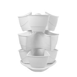 Herbs pot - Coubi - 3 piece set  - White