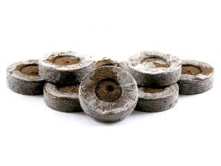 Pellets de turba expandibles 33 mm - 12 piezas -