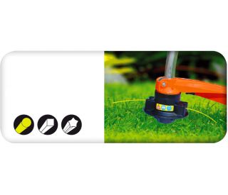 Mowing line for grass trimmers - 2.0 mm, 15 m - round - CELLFAST