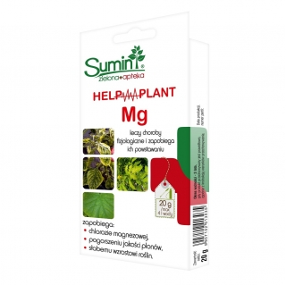 Help Plant Mg - against magnesium chlorosis, meagre yield & growth - Sumin® - 20 g