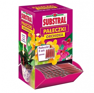 Orchid fertilizer sticks - for three months and five pots - Substral - 5 pcs